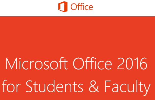 Microsoft Office 2016 Free for students
